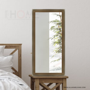 Dull Gold Full-length Wall Mirror