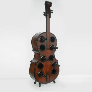 Violin Shape Wine Rack Holder