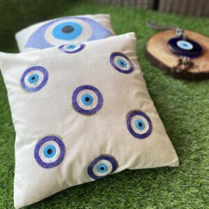 Evil Eye Pool Cushion