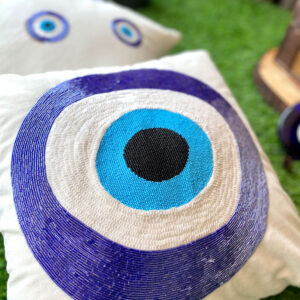 Gellius Round Evil Eye - Cushion Cover