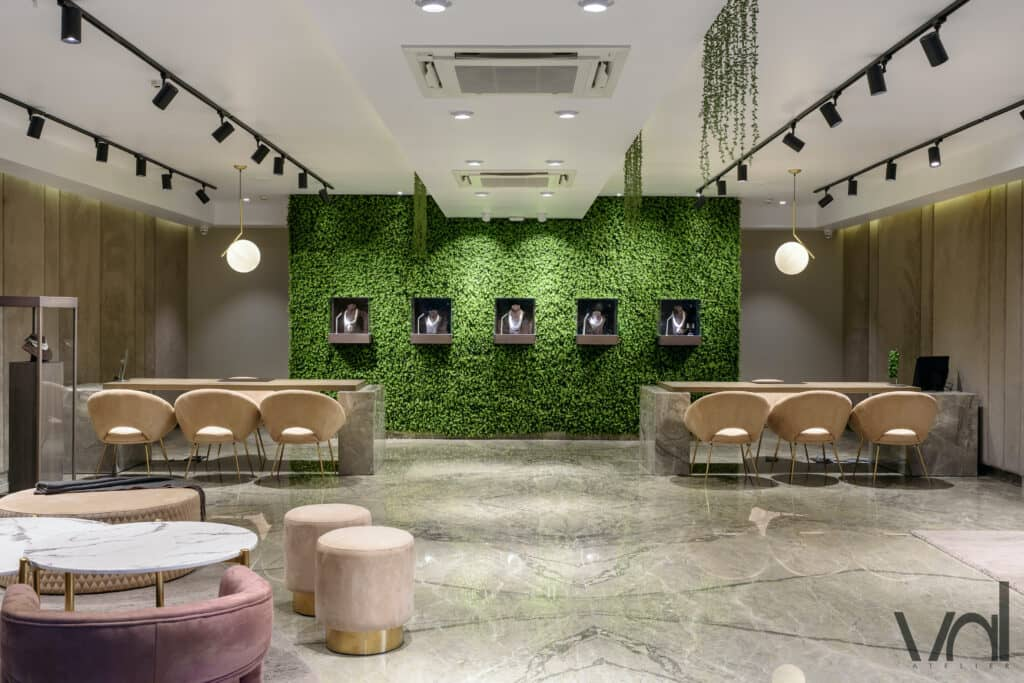 VAL Atelier Jewellery Store design in Hyderabad