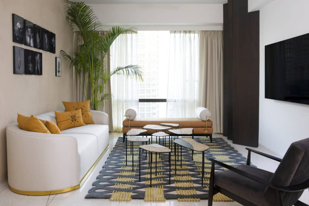 Sarah Shams curates this home for Bharat Floorings owner